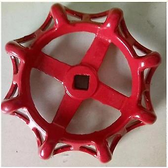 Round Metal Wheel Pipe Valve Cap Iron