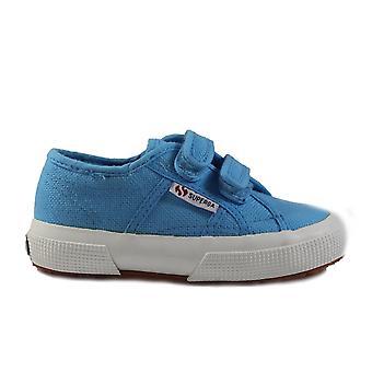 Superga COTJ Strap Canvas Classic Rip Tape Blue Unisex Shoes