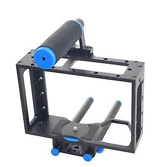 YELANGU YLG0107E Protective DSLR Camera Cage Stabilizer / Top Handle Set(Black)
