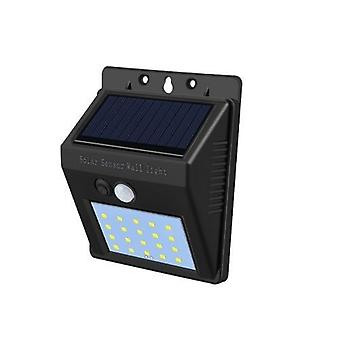 Solar Led Street Light - Pir Motion Sensor Detection Wall Lamp