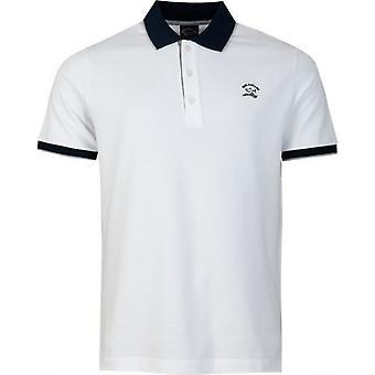 Paul And Shark Contrast Collar Polo Shirt