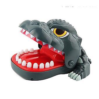16x13.5x8cm Funny Cartoon Dinosaur Mouth Teeth Game Bite Finger Prank Toys