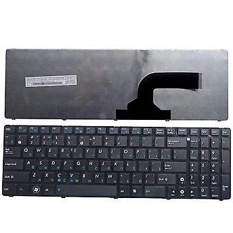 Ρωσικό πληκτρολόγιο lap-top για Asus K52 K53s X61 N61 G60 G51 mp-09q33su-528