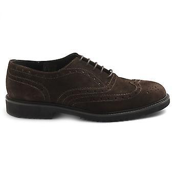 Zapato Derby para hombre Sangiorgio Moro Cabeza en Ante