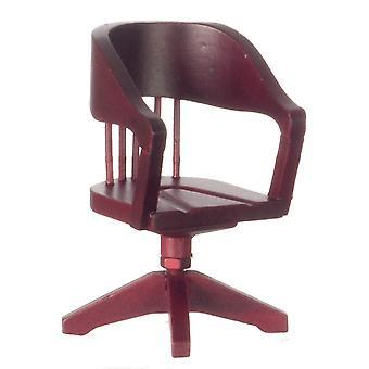 Chaise miniature de bureau de swivel de meubles miniatures de maison de poupées