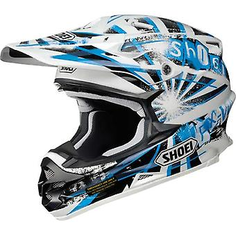 Shoei VFX W Dissent TC2 XL Full Face Motor Helm Blauw