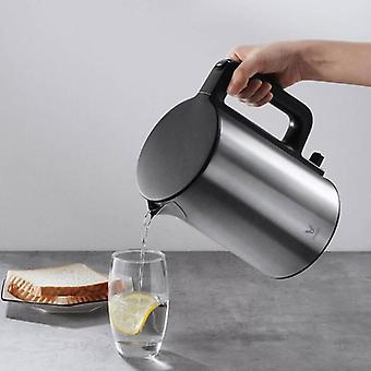 Electric Kettle Heating Pot, Teapot, Fast Boiling, Stainless Steel, Large