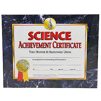 Science Achievement Certificate