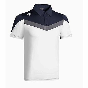 New Outdoor Sports Men Short Sleeves T-shirt, Summer Golf Clothes