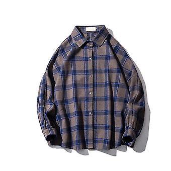 Långärmad Hane Vintage Skjortor