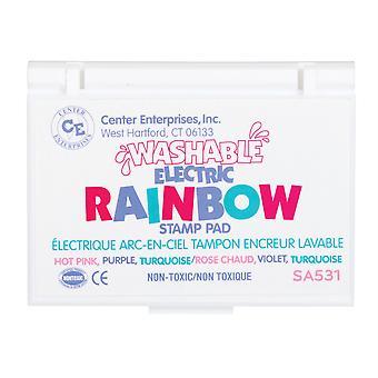 Washable Rainbow Stamp Pad, Electric