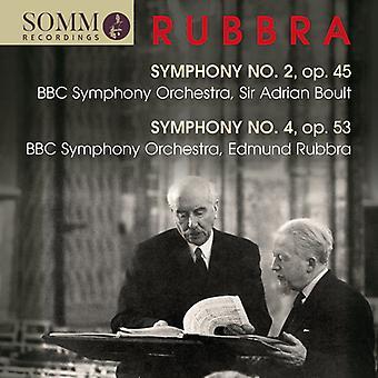 Rubbra / Boult - Symphonies 2 & 4 [CD] USA import