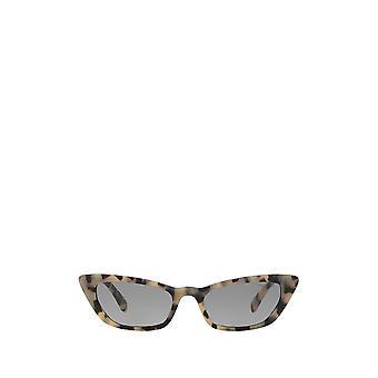 Miu Miu MU 10US sand havana brown female sunglasses