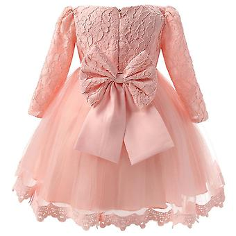 Flower Dress Elegant Princess Sequin Dress Kid For Baby Clothes Wedding Party