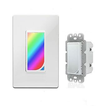 10A DIY RGB Scene US Type Smart WIFI Switch Tuya APP Remote Control Timing