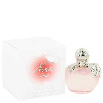 Nina l'eau eau fraiche spray por nina ricci 515921 50 ml