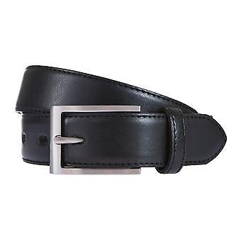 Cinturones cuero Correa Negro correa correas de hombres LLOYD 175