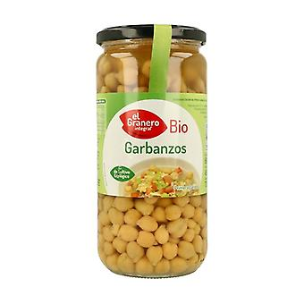 Organic Cooked Chickpeas 660 g