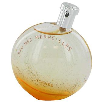 Eau Des Merveilles Eau De Toilette Spray (testaaja) Hermes 3,4 oz Eau De Toilette Spray
