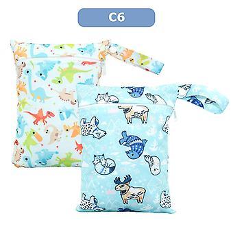 Waterproof Reusable Mini Wetbag, Baby Cloth Diaper Bag