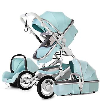 High Landscape 3 In 1 With Car Seat Baby Car Seat Stroller Set