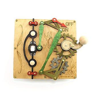 Single Lever Switch Plate 8003a Earth Tone