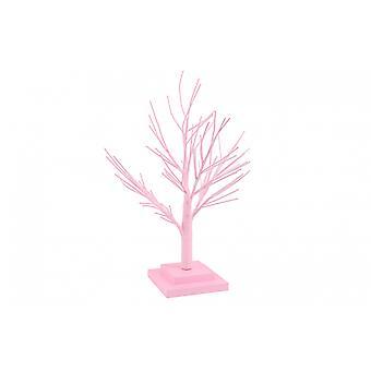 Décoration rose de table d'arbre de brindille de Pâques