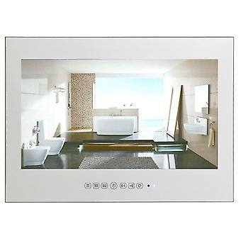 """21.5"""" フルHD 1080p防水バスルーム LEDテレビ (シルバーミラーテレビ)"""
