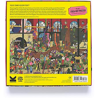 Inside the Chocolate Factory: Willy Wonka A Movie Jigsaw Puzzle