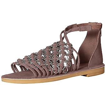 Musse & Cloud Womens Brianne Leather Open Toe Casual Strappy Sandals