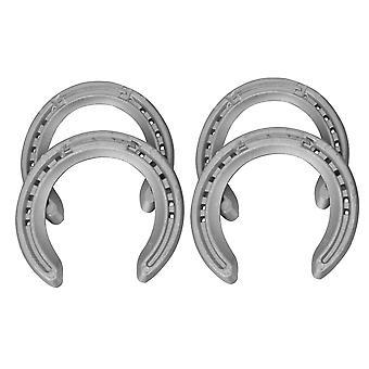 4Pcs Professional Front & Rear Horseshoe Horse Shoes Dia 108mm & 105mm