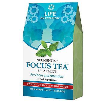Life Extension Neumentix Focus Tea Spearmint stick pakuje 14