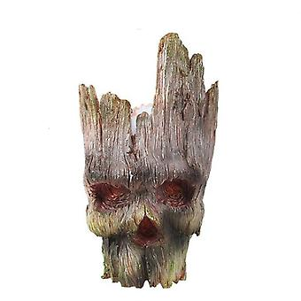 Strongwell Groot Flowerpot Planter Figurines Tree Man Cute Model Toy Garden
