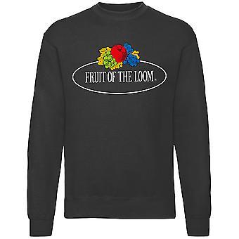 Fruit of the Loom Womens Vintage Set-In Graphic Sweatshirt