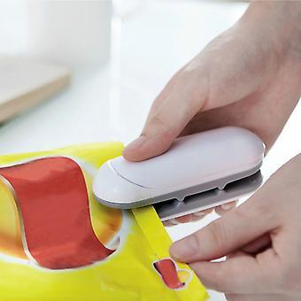 Portable Mini Sealing Household Machine Heat Sealer Capper Food Saver For Plastic Bags Package Mini Gadgets