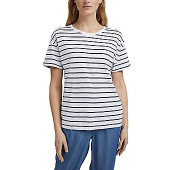 ESPRIT 041EE1K363 T-Shirt, 405/Dark Blue, X-Large Woman
