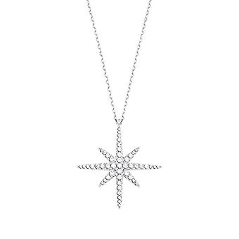 amor Necklace with women's pendant, in Sterling 925 silver, with zircons(11)