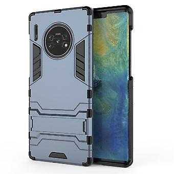 Shockproof case for huawei nova5i pro/mate 30lite with kickstand blue pc4980