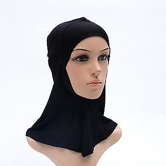Turban stretch musulman, Hijab intérieur à couverture complète, sous des casquettes d'écharpe