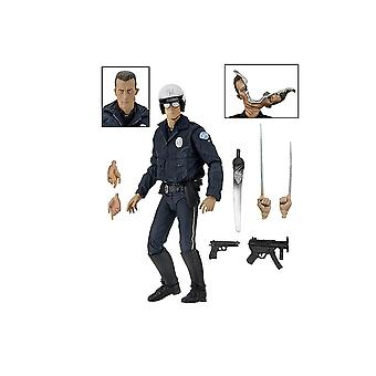 T-1000 Ultimate motorsykkel Cop figur fra Terminator 2