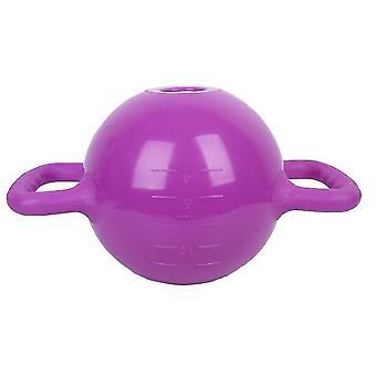 الأرجواني kettlebell اليوغا معدات اللياقة البدنية حقن المياه لزيادة الوزنالحمل وسريع لاستخدام x2307