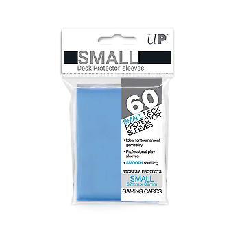 Ultra Pro světle modré chrániče malé paluby - 60 rukávů