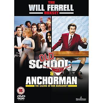Anchorman The Legend / Old School DVD