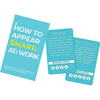 Gift Republic How To Appear Smart At Work Card Game