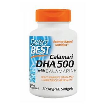 Doctors Best Calamari DHA 500 with Calamarine, 500 mg, 60 Soft Gels