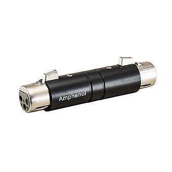 Amphenol 3 Pin Xlr Socket To Socket