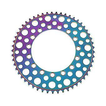 53 Tooth colorfful folding bike 53t chainring road bike negative teeth single chainring az13422
