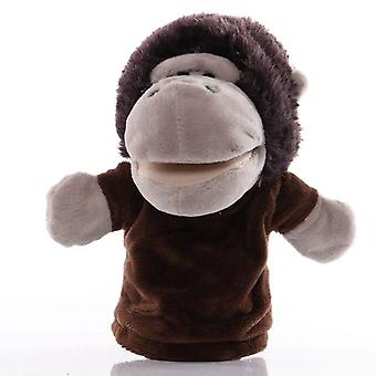 25cm Animal Hand Puppet Cartoon Plush Toys Baby Educational Hand Puppets  Telling Story Doll Toy