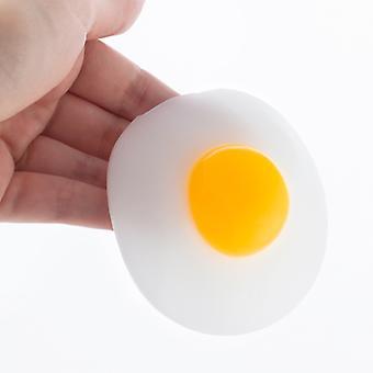 ضغط فيسكوز البيض المقلي