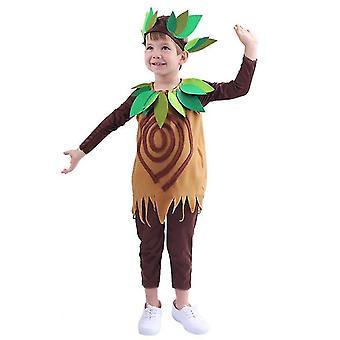 Petitebella Albero Bambini Costume da 4 a 14y(XL da 130 a 140cm)